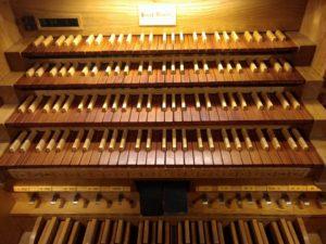 Órgano Grenzing - Auditorio Nacional - Teclado