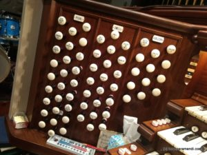 Stops - Pipe Organ - Plymouth church - Brooklyn