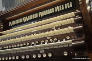 Keyboard - Pipe Organ - Plymouth church - Brooklyn