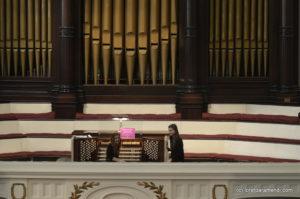 Concert de órgano en Brooklyn - Loreto Aramendi - Plymouth Church