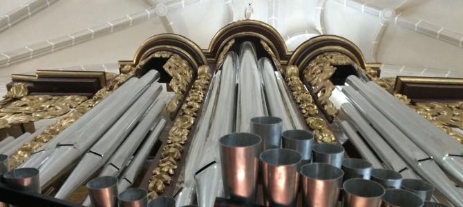 Concert at the Colegiata of Bolea on a XVIIIs historic organ – Spain– June 2018