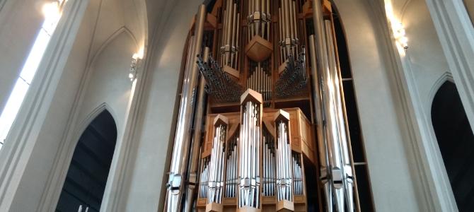Concerts at the Klais pipe organ (1992) at Hallgrímskirkja – Reykjavík – Iceland – July 2018