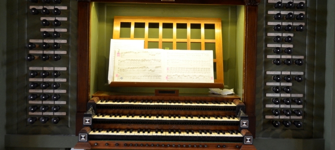 Concert d'orgue à l'orgue Ryde & Berg de la cathédrale d'Oslo – Norvège – Juillet 2018