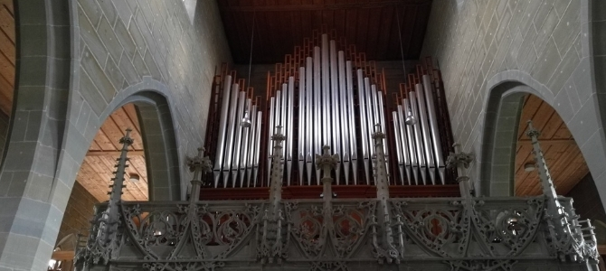 Concert at the Khun organ in the Stadkircke – Burgdorf – Switzerland – August 2018