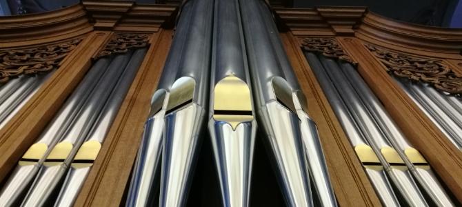Orgelkonzerte – Metzler (1981) – Heiliggeistkirche – Bern –  Schweiz – August 2018