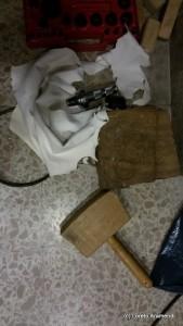 Sagrada Familia - órgano Cavaillé-Coll Convers - limpieza - herramientas
