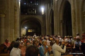 Saint Sever - órgano Cavaillé-Coll - El público