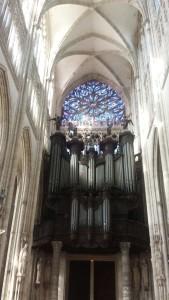 fachada del órgano Cavaillé-Coll de Saint Ouen de Rouen