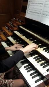 Teclado del órgano Cavaillé-Coll de Saint Ouen de Rouen