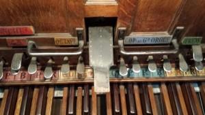 Pedal del órgano