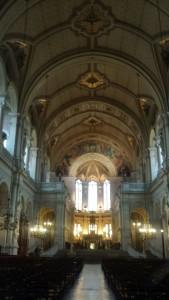 Iglesia de la Santa Trinidad - París - Octubre 2015