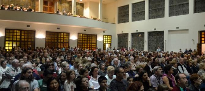 Concert cinématographique – Église de la Sagrada Familia – San Sébastien- Novembre 2015
