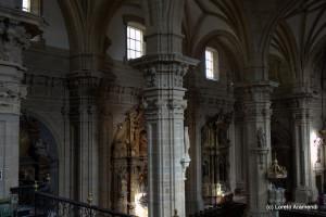 Interior - Basílica Santa María del Coro
