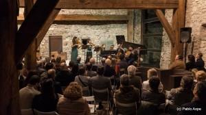 Ensemble Diatessaron - Concierto en el museo Chillida Leku