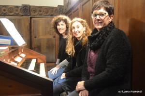 Concierto benéfico para el órgano Stoltz - Bergara - Pais Vasco - Loreto Aramendi
