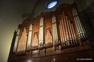Concierto benéfico para el órgano Stoltz - Bergara - Pais Vasco - Loreto Aramendi - Fachada
