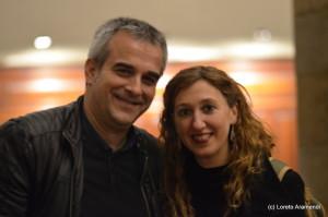 Concierto benéfico para el órgano Stoltz - Bergara - Pais Vasco - Loreto Aramendi y Aitor Olea