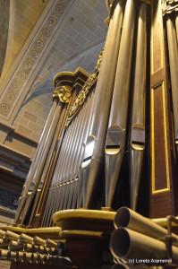 Fachada del órgano de El Vendrell