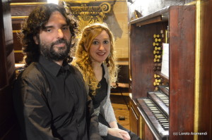 Loreto Aramendi y Jonatan carbó