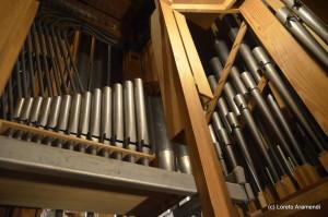 Interior - órgano Grenzing