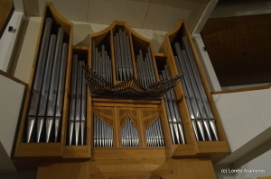 Fachada del órgano Grenzing