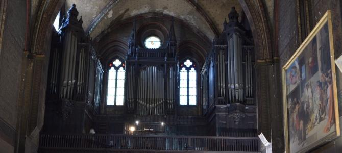 Concert à l'orgue Puget (1880) – Église Notre dame du Taur – Toulouse – Avril 2016
