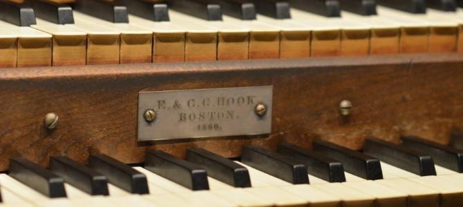Konzert in der E. & G. G. Hook-Orgel (1860) – Johanneskirche – Bangor – Maine – USA – Mai 2016