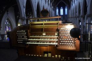 Consola - Órgano Hook - Cathedral de Boston - Massachusetts