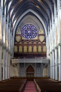 E & G.G. Hook Hastings organ (1875)- Holy Cross Cathedral - Boston