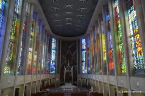 Nave - Cathedral de St. Joseph - Hartford - Connecticut