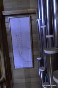 plano - Órgano Acitores - Orio