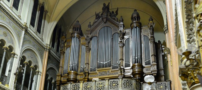 Concert at the Mutin Cavaillé-Coll (1912) pipe organ – Basilique of the Holy Sacrament – Buenos Aires – Argentina – August 2016