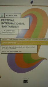 Cartel FIS - San Vicente de la Barquera