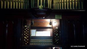 Consola órgano Forster & Andrews - Iglesia Metodista - Buenos Aires