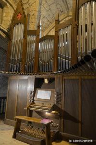 Fachada del órgano - San Vicente de la Barquera