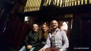 Rafael Ferreyra - Matias Sagreras - Loreto Aramendi - Iglesia Metodista - Buenos Aires