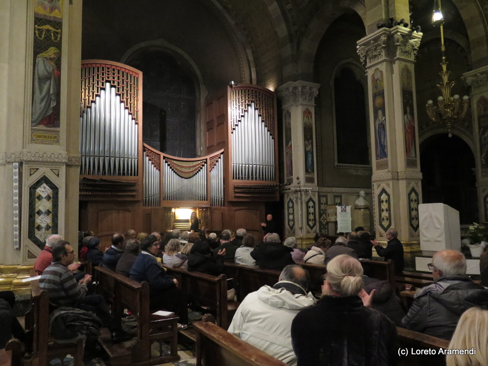 Audience - Organ concert