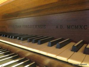 Santa Rita Organ - Signature