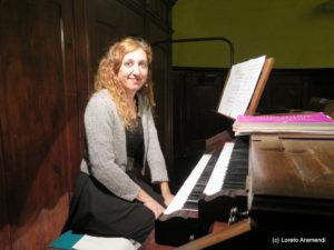 Loreto Armendi - Órgano Amezua - Hernani