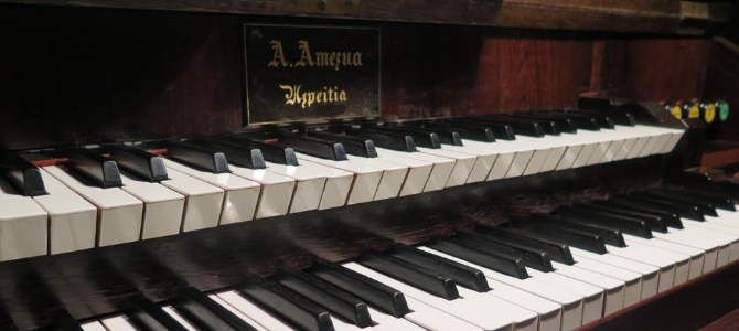 Concert à l'orgue Amezua – Hernani – Décembre 2016