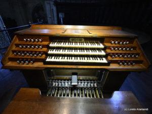 Consola completa - Órgano Cavaillé-Coll - Santa María del Coro
