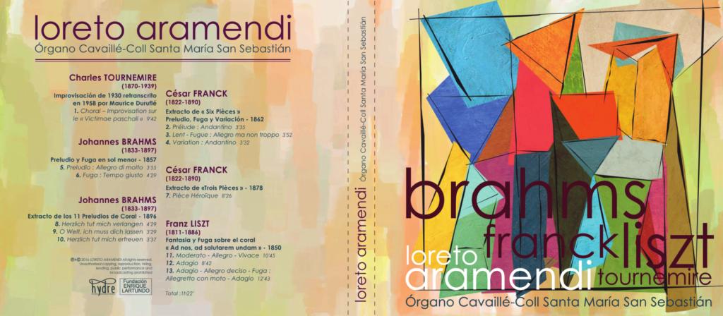 Cover CD PipeOrgan Cavaillé-Coll - Loreto Aramendi
