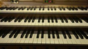 Teclado de órgano de San Ginés - Madrid