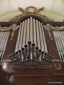 Trompetería - órgano de San Ginés - Madrid