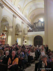 El público durante el concierto