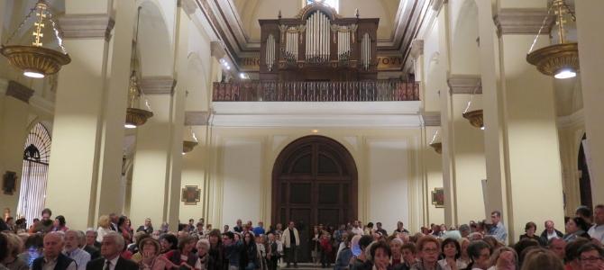 Concierto de órgano – iglesia San Ginés- Festival Música Sacra – Madrid – Abril 2017