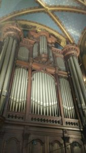 Facade de l'orgue Saint Francois de Sales