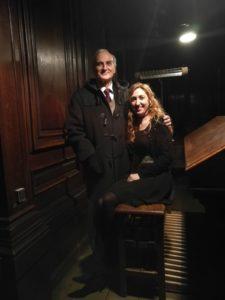 Louis Robilliard et Loreto Aramendi à l'orgue Saint François de Sales - Lyon
