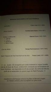 Obras del concierto de Loreto Aramendi