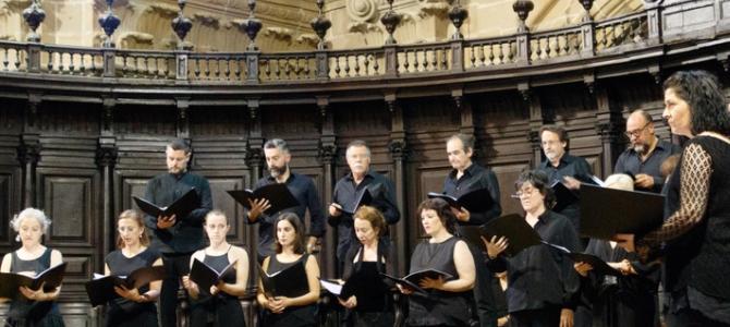 Coro  ARV-VOCEM,  Orquesta  SOTTO-VOCE  y  Loreto  Aramendi  con  música  de  F.Poulenc,  Arvo  Pärt  y  M.Duruflé